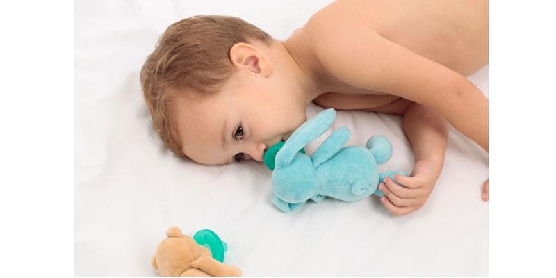 Minikoioi Sleep Buddy мека играчка със залъгалка
