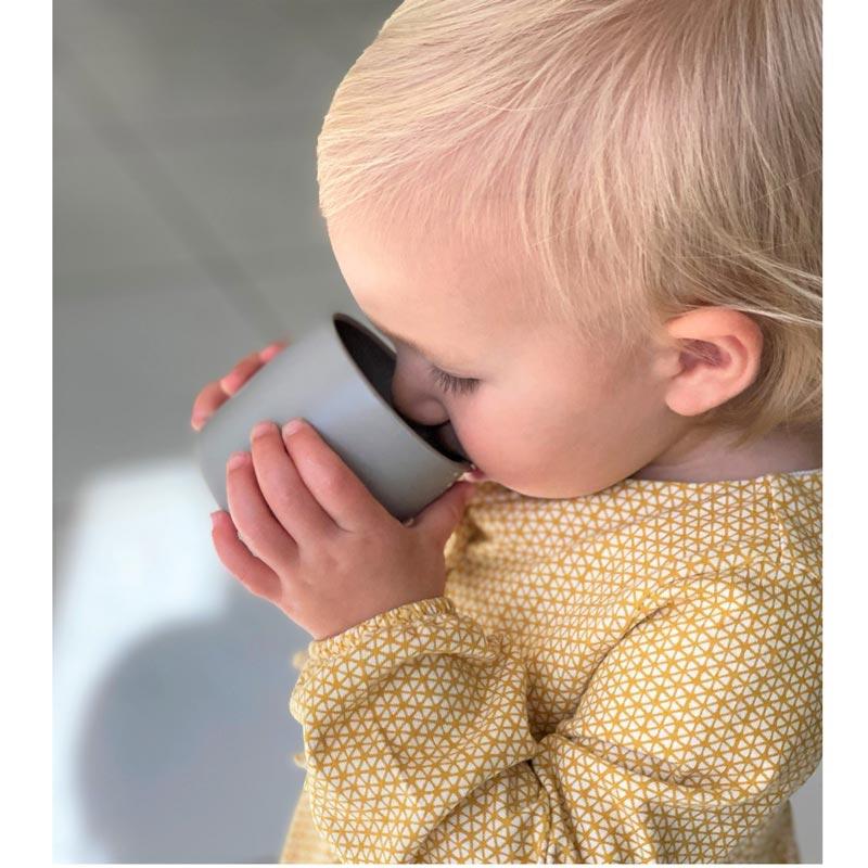 Minikoioi Mini Cup бебешка силиконова чаша