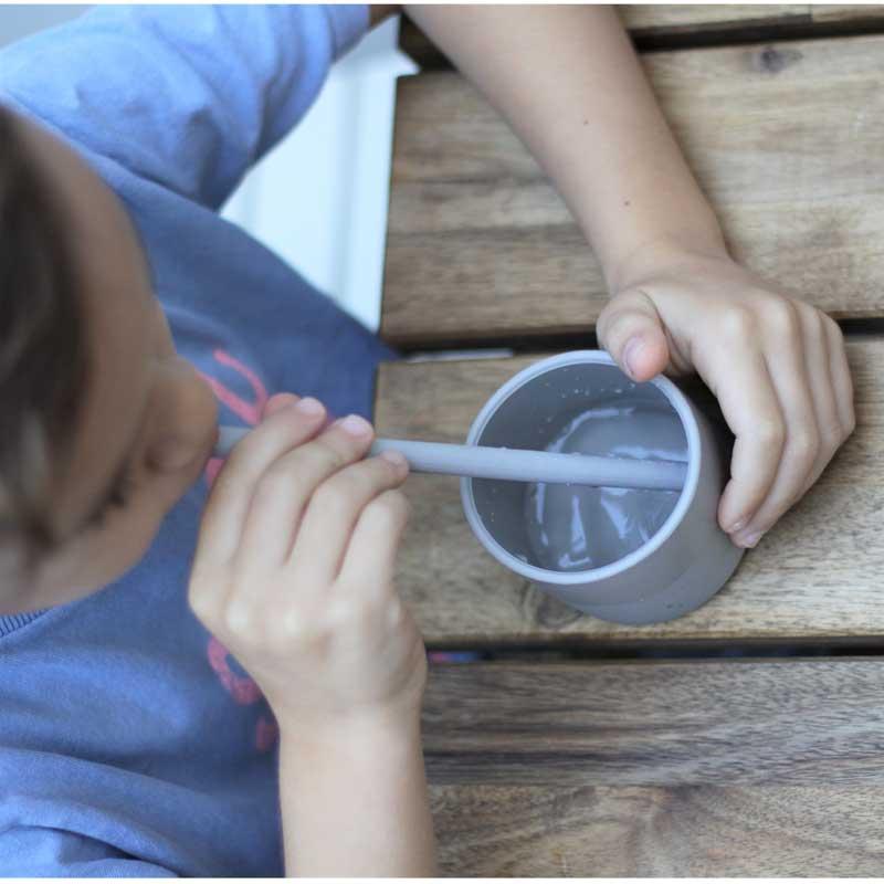 Minikoioi Flexi Straws силиконови сламки с четка